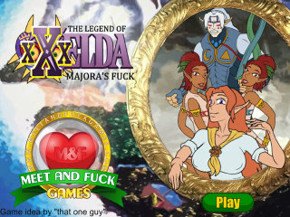 The Legend of XXXelda: Majora's Fuck